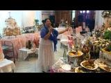 Бузылёва на Цыганской свадьбе в Самаре 22.07.2014