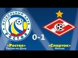 Ростов - Спартак - Гол Уориса у ворота Ростова - 0-1 08.12.2013