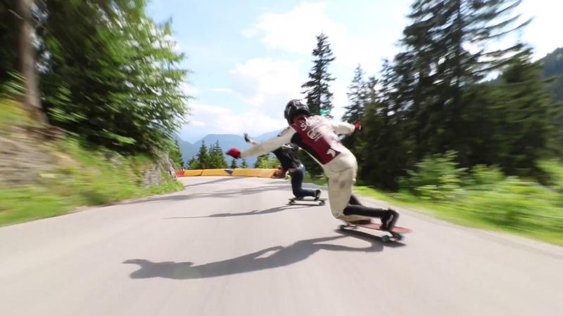 Alpenrauschen 2018: Dominic Schenk Ian Freire | ROCKET Longboards