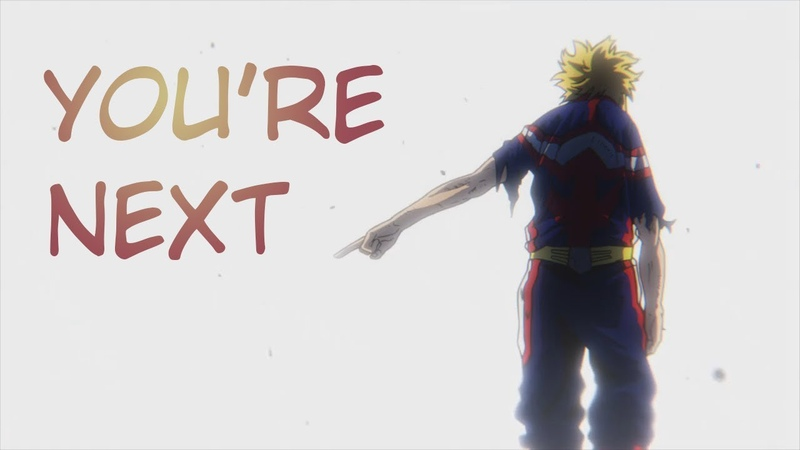 My hero academia - You're next | All might passes the torch [English Dub]