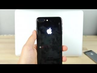 Как сделать светящееся яблоко на iPhone 7 своими руками