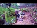 Каменный ручей для хард-эндуро | Проезд целиком | Видео с камеры на шлеме