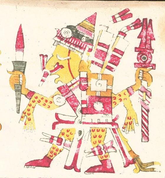 Кровавый ритуал у ацтеков.