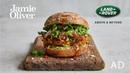 Veggie Bhaji Burger | Jamie Oliver Range Rover Evoque | AD