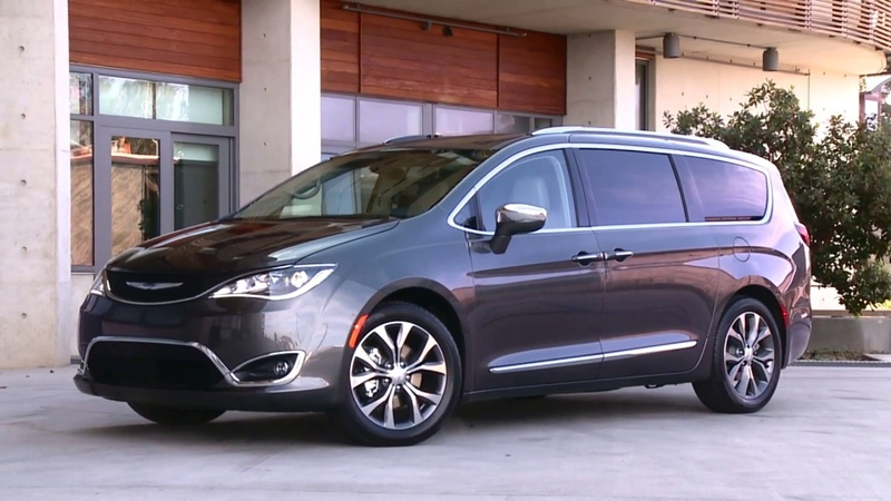 2018 Chrysler Pacifica Design