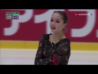 Alina ZAGITOVA RUS Free Skate Helsinki Grand Prix 2018