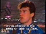 Veronica IJsgala 1989 - price giving ceremony 500 m men + ladies, interview Zhelezovskiy