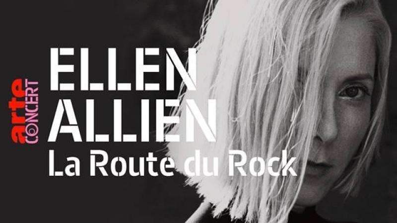 Ellen Allien - Live @ La Route du Rock, France 18.08.2018