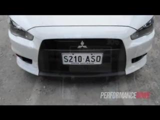 Mitsubishi Lancer Evolution X Perfomance Drive