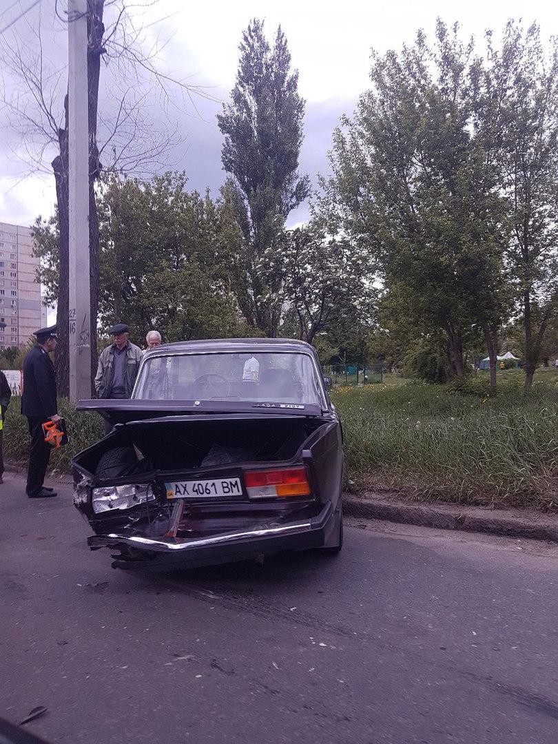 Вследствие аварии пострадала 73-летняя женщина (ФОТО)
