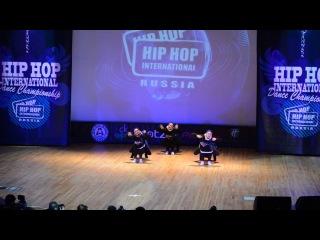 Indigo - Hip Hop International 2013 (Russia) 1st place (Adults)