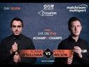 Ronnie O'Sullivan vs Kyren Wilson รายการ ManBetX Champion of Champions 2018 รอบ FINAL S1/P1