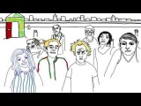 Grouplove - Borderlines and Aliens (full animated video)