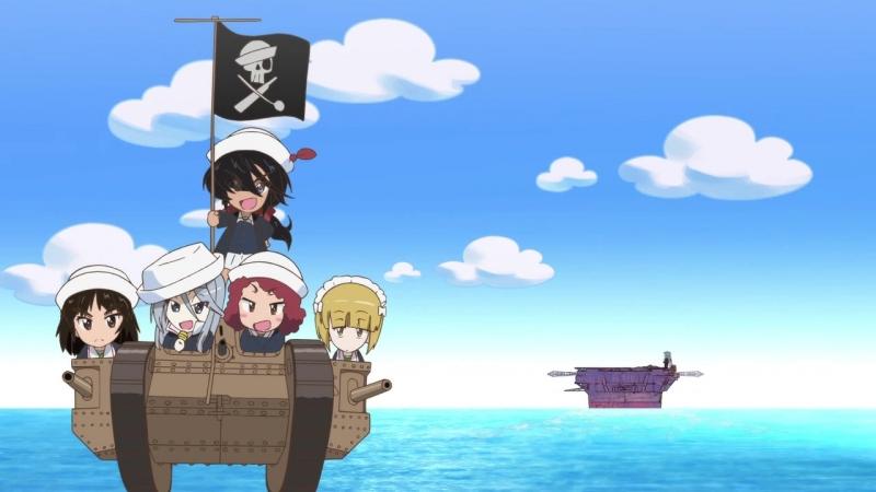 Girls und Panzer: das Finale | Девушки и танки: Финал - Эндинг [без титров]