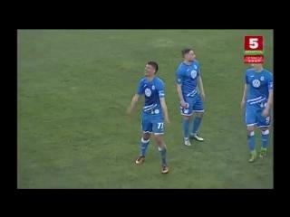 1:0 - Владислав Федосов. Днепр - Шахтер (23/04/2018. Высшая лига, 4 тур)