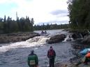 Река Тумча. Порог Карниз.