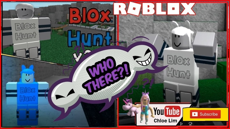 Roblox Blox Hunt! Playing Hide and Seek as OBJECTS! Good Hider but Bad seeker! Loud Warning!