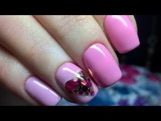 Маникюр к 14 февраля. Камифубуки на ногтях. Дизайн ногтей к 14 февраля