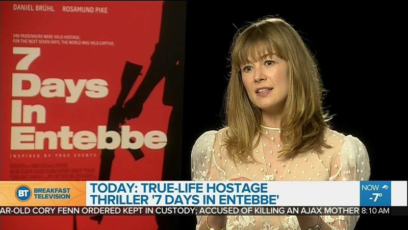 Rosamund Pike on her role in 7 Days in Entebbe
