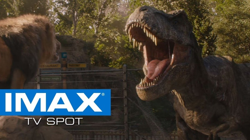 Jurassic World: Fallen Kingdom IMAX® Exclusive TV Spot