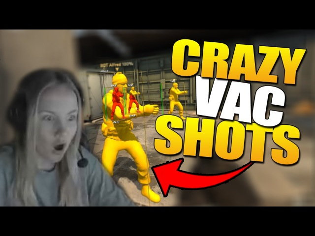CRAZY CSGO VAC SHOT COMPILATION 10min 2017 (LUCK OR SKILL?)