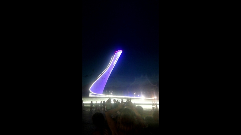 олемпийские музыкальные фонтаны