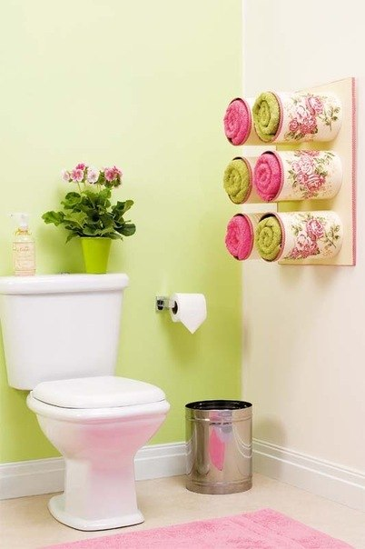 Интересная идея для вашей ванной