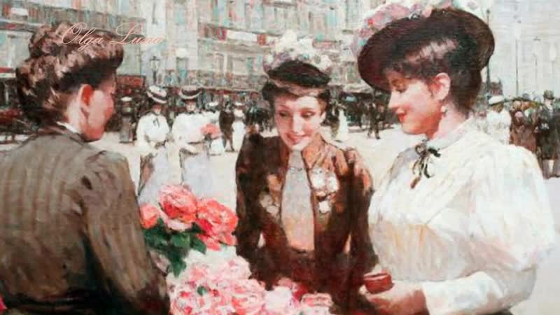 Клод Дебюсси - Грезы (Claude Debussy - Reverie. Art by Victor Guerrier)