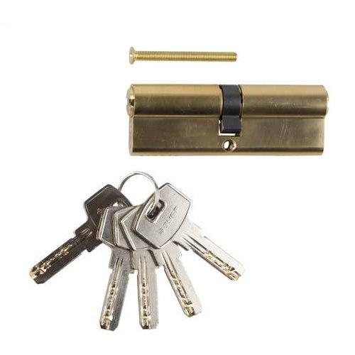 """Механизм """"ЭКСПЕРТ""""цилиндровый, повышенной защищенности, тип """"ключ-ключ"""", 6-PIN   ЗУБР"""