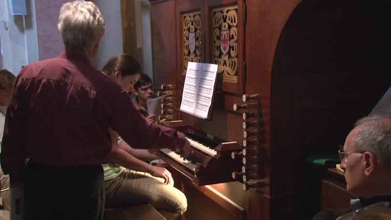 Masterclass Hans Davidsson Theme- Trios by Georg Böhm Part 3(4)