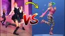 181016 K-Pop VS. FORTNITE ¿What's Your Favorite?   Dance Challenge BTS amas American Music Awards