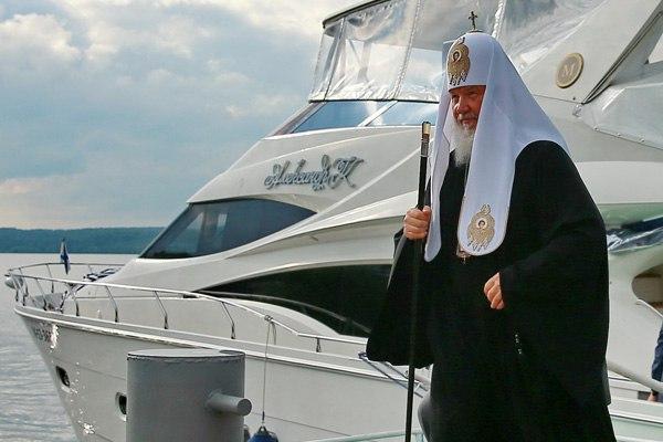Патріарх Кирило закликав росіян не багатіти