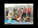 В Сочи прошла тренировка юных гимнасток