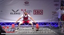 World Record Deadlift with 297 5 kg by Hassan El Belghiti FRA in 66 kg class