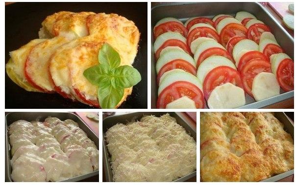 запеканки в духовке рецепты с фото из кабачков