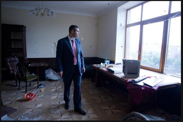 Первый рабочий день Кличко-мэра
