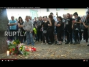 Live_ Anti-migrant groups march after fatal incident in Koethen