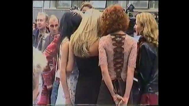 ВИА Гра - Красная дорожка Премии Муз ТВ 2003