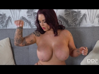 Harmony Reigns [Big ass, Big tits, High Heels, Lingerie, Masturbation, Orgasm, Pussy gape, Solo, Stockings, Tattoo, Toys]