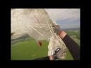 Пример применение ПЗ при частичном отказе и приземление под двумя куполами