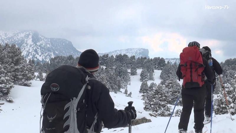 Ski nordique Vercors ESF Col du rousset Rando nordique hauts plateaux