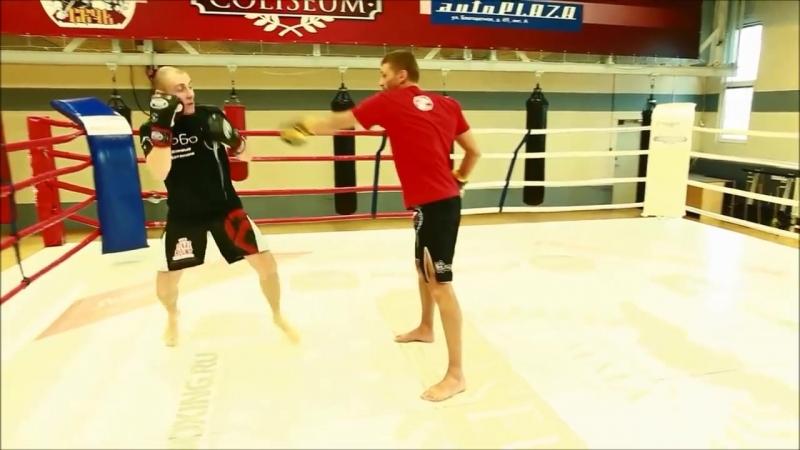 Бой на дальней дистанции тренировка обучение Школа бокса Руслана Акумова