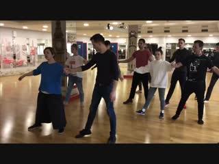 Репетиция Новогоднего Бала Самоцветов   2018 г.