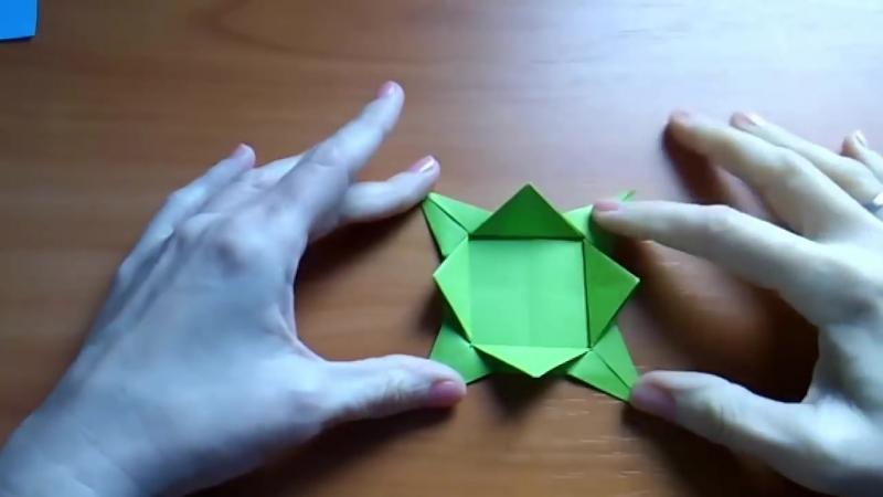 ПРИКОЛЬНЫЕ Поделки Для Детей Оригами Игрушка Антистресс ВОЛЧОК Сделай САМ и Играй