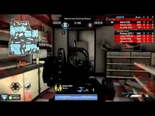 Vexx Revenge vs Rise Nation - Game 2 - WB Round 1 - CoD Championships 2014