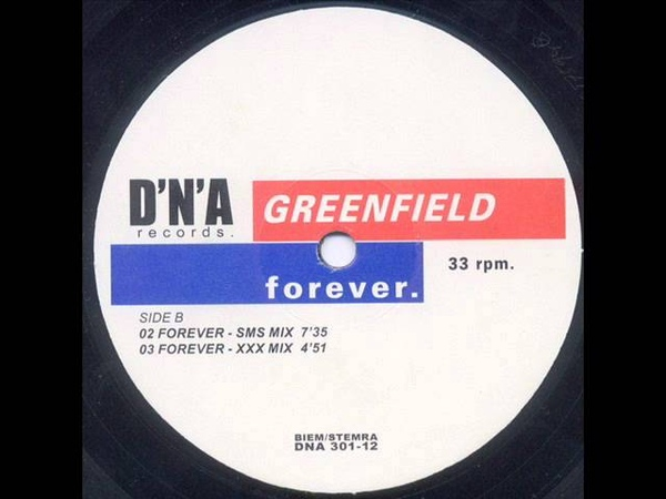 Greenfield - Forever ('Thisco Will Pay My Phonebill' Mix)