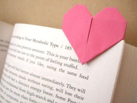 как сделать закладку для книги из бумаги.
