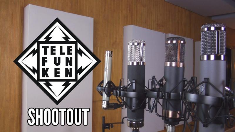 Telefunken Microphone Shootout AR-51, AK-47, CU-29, M260 @ ZenPro Audio