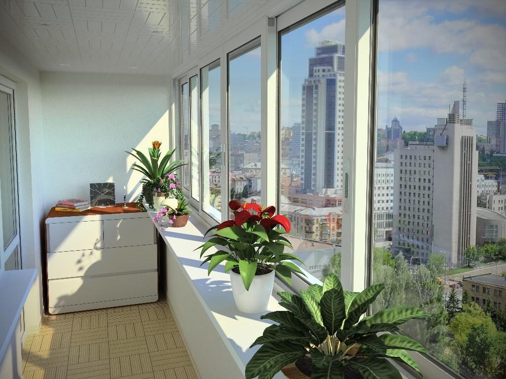 Порядок на балконе