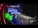 Игровой набор Laser X - Бластер с мишенью (свет, звук)